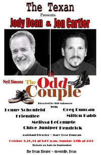 The Odd Couple show poster